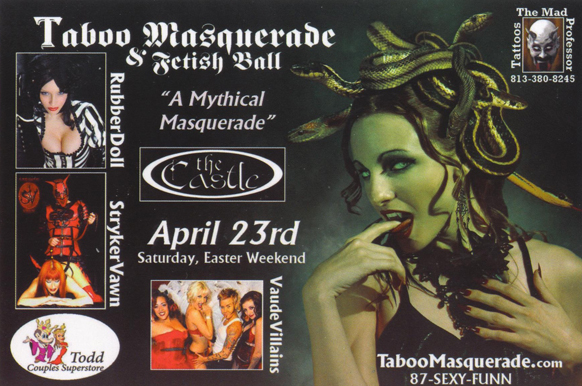 Taboo Masquerade Fetish Ball